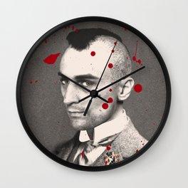 TRAVIS BICKLE Wall Clock