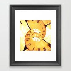 The Conspiracy Of Time Framed Art Print