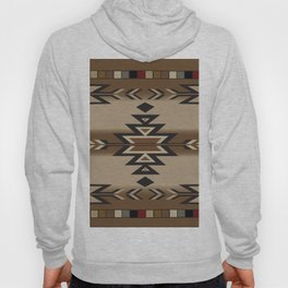 American Native Pattern No. 170 Hoody