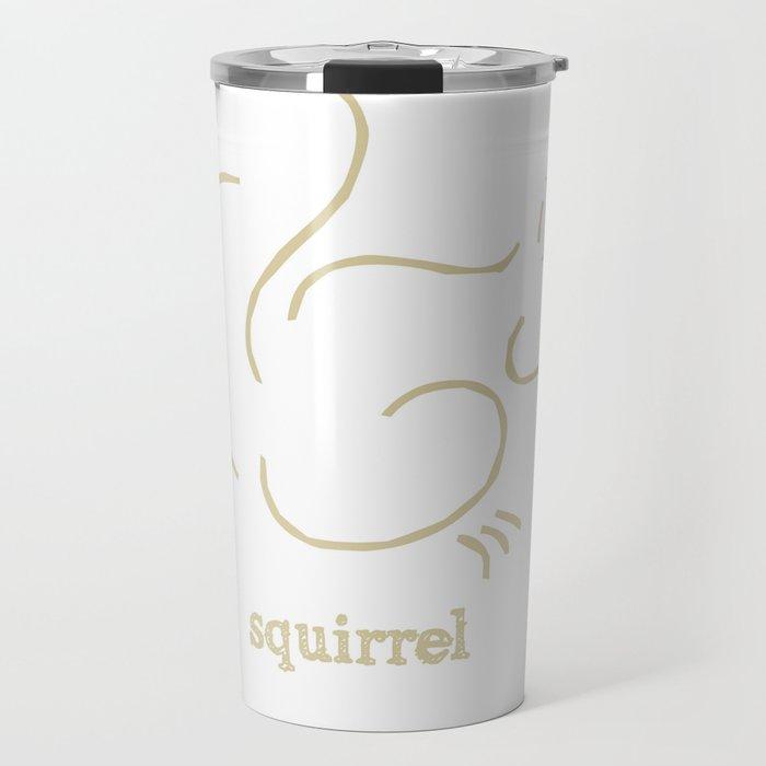 Squirell Travel Mug