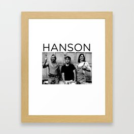hanson Framed Art Print