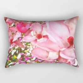 Pink Blossoms Rectangular Pillow