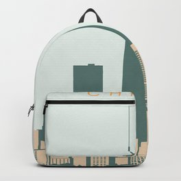 Chicago Cityscape Backpack