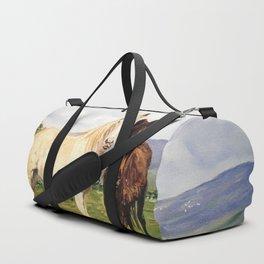 Caballos/Cabalos/Horses Duffle Bag