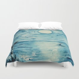 Shark sign Duvet Cover