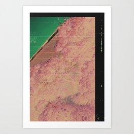 COV03 - COUNTERFEIT SAKURA Art Print