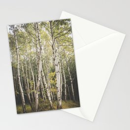 Autumn in Maine Stationery Cards