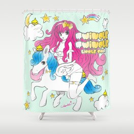 TWINCLE,TWINCLE,LITTLE STAR Shower Curtain