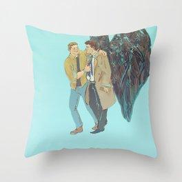 Free to be You & Me Throw Pillow