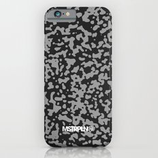 Comp Camouflage Pattern / Black iPhone 6s Slim Case