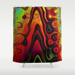 Color Flow Shower Curtain