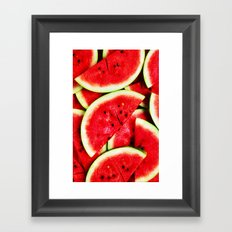 Watermelon - for iphone Framed Art Print