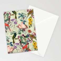 Floral and Birds VIII Stationery Cards