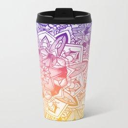 Mandala Metal Travel Mug