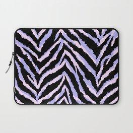 Zebra fur texture print II Laptop Sleeve