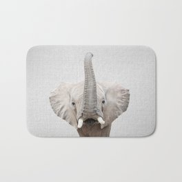 Elephant 2 - Colorful Bath Mat