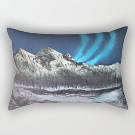 Winter Auroras Rectangular Pillow
