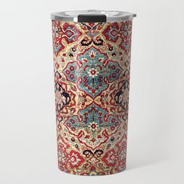 Esfahan Central Persian Rug Print Travel Mug