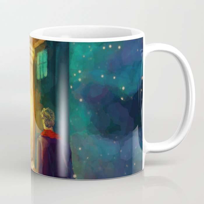 The Doctor, Bill and the kitchen Coffee Mug