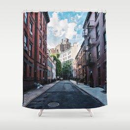 Gay Street, Greenwich Village Shower Curtain