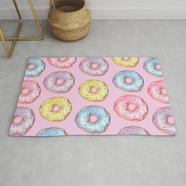 Donut Party Rug