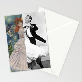 Renoir's Dance at Bougival & Fred Astaire (with Ginger Rogers) Stationery Cards