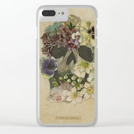 I Miss You Already. Clear iPhone Case