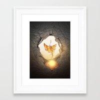 final fantasy Framed Art Prints featuring final fantasy by Isabel Seliger
