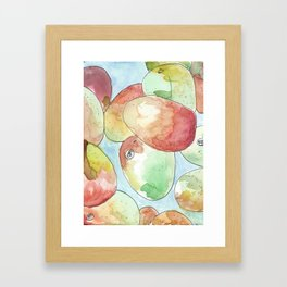 away in a mango Framed Art Print