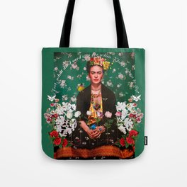 Wings to Fly Frida Kahlo Tote Bag