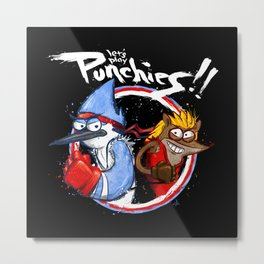 Let's Play PUNCHIES!! Metal Print