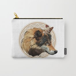 Wild Child - Wolf Carry-All Pouch