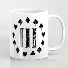 Three Percenter Aces Distressed Coffee Mug