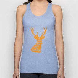 My Dad Loves Me More than Hunting Deer Hunter T-Shirt Unisex Tank Top