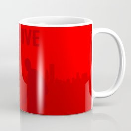 Minimalist Ellie and Joel ( The last of us ) Coffee Mug
