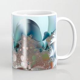 Shimmer on top of the fantasy mountain Coffee Mug