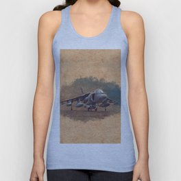 Harrier Jumpjet Unisex Tank Top