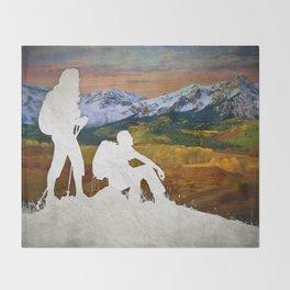 Autumn Hike Throw Blanket