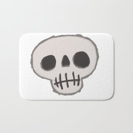 Skull-King Bath Mat
