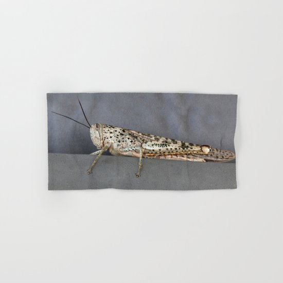 Grasshopper Hand & Bath Towel