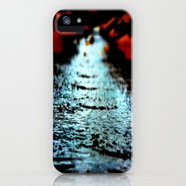 Red shores iPhone Case