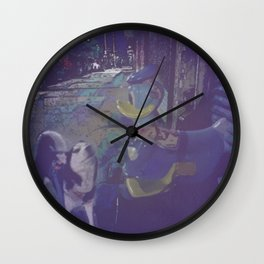 A Dog and A Duck Wall Clock
