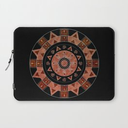 ethnic circle Laptop Sleeve