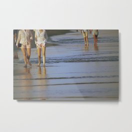 2's at the Beach Metal Print
