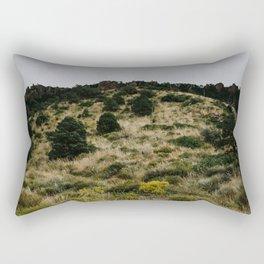 Hill of Green in Big Bend National Park, TX Rectangular Pillow