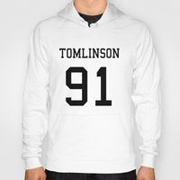 louis tomlinson Hoodies featuring TOMLINSON by kikabarros