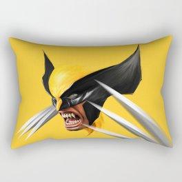 BLACK AND YELLOW Rectangular Pillow