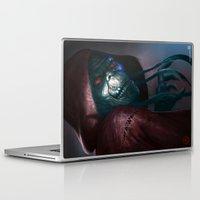 thundercats Laptop & iPad Skins featuring Mumm-ra by ImmarArt