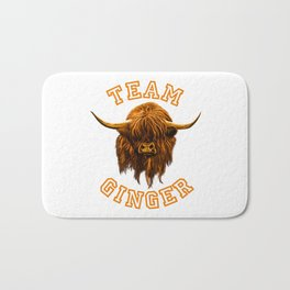 Team Ginger Bath Mat