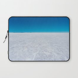 Wide Open Spaces, Salar de Uyuni Salt Flat, Bolivia Laptop Sleeve